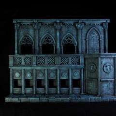 Castillo de Hades | Saint Seiya | SAMA Dioramas 1