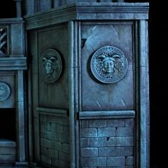 Castillo de Hades | Saint Seiya | SAMA Dioramas 2
