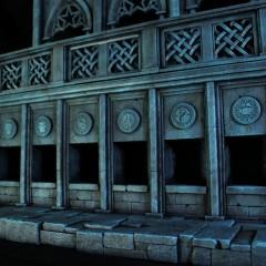 Castillo de Hades | Saint Seiya | SAMA Dioramas 5