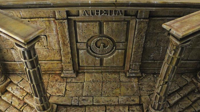 Diorama Puerta de Athena Saint Seiya