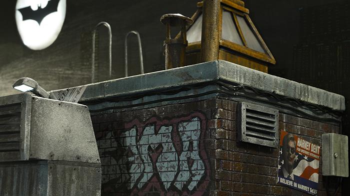 Diorama Comisaria de Gotham DC comics Batman