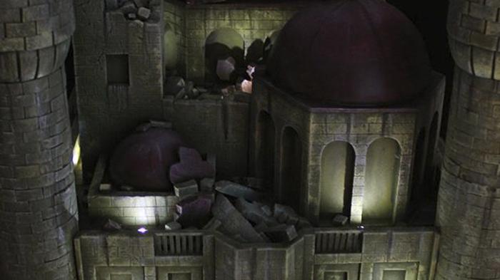 Diorama Castillo de Pilaf 2.0 Dragon Ball
