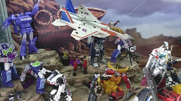 Diorama Ruta 66 Transformers