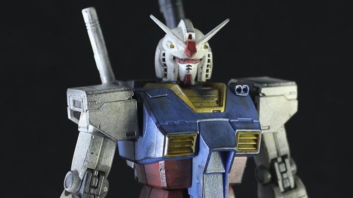 Custom Gunpla RX-78 1/100 Gundam