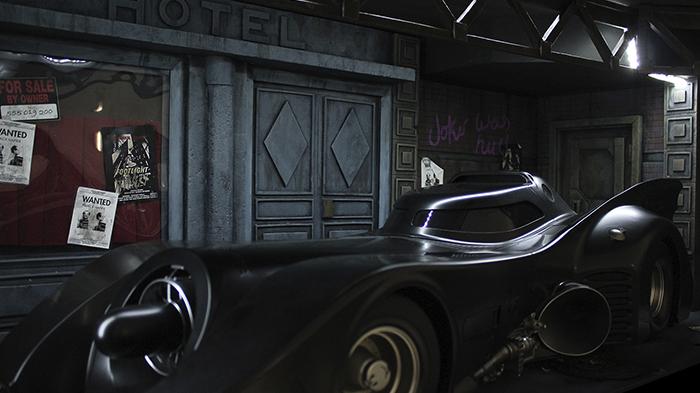 Diorama La escena del crimen Batman DC