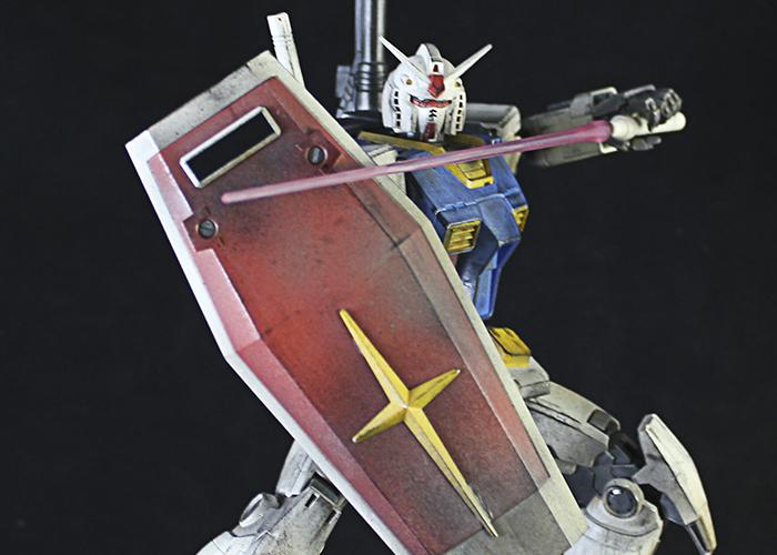 Galeria Custom Gundam