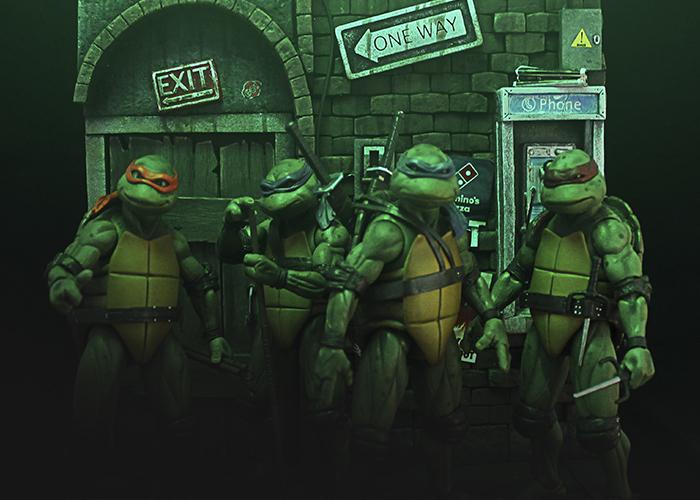 Galleria Dioramas tortugas ninja